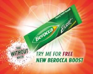 Free Berocca Boost