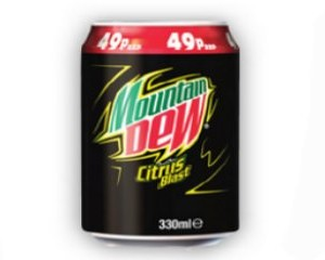 Free Can of Mountain Dew