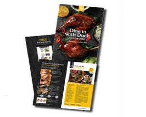 Free Duck Recipe Booklet