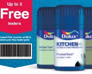 Free Dulux Tester Paint Pots
