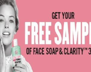 Free Face Soap Facial Wash