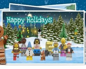 Free LEGO Postcard