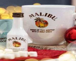 Free Malibu Christmas Jumper Mug