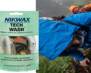 Free Sachet of Nikwax Tech Wash