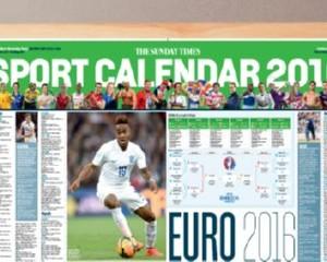 Free Times 2016 Sports Calendar