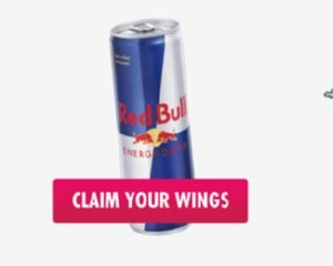 Two Free Cans of Red Bull