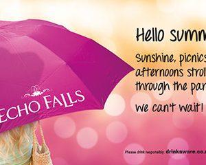 Free Echo Falls Umbrella